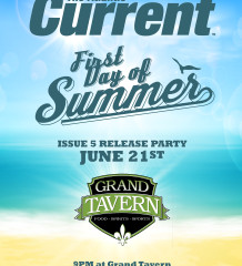 Atlantic Current Issue 5 release party