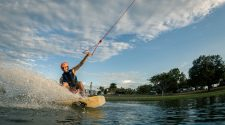 Cable Wake Rider at Shark Wake Park 561