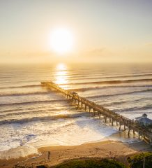 Greg Panas' photo of the Juno Beach Pier