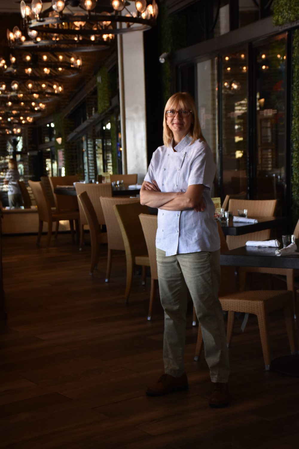Chef Elisabet Summa at Elissabetta's in Delray Beach