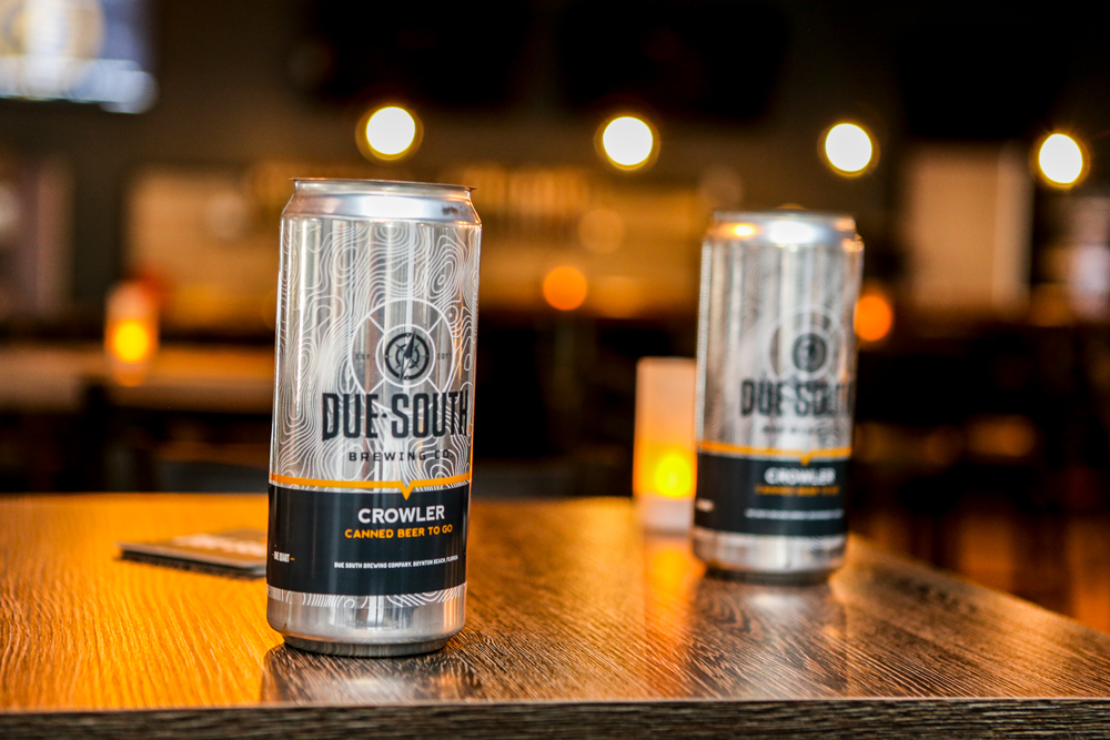 Due South Brewing Crowler