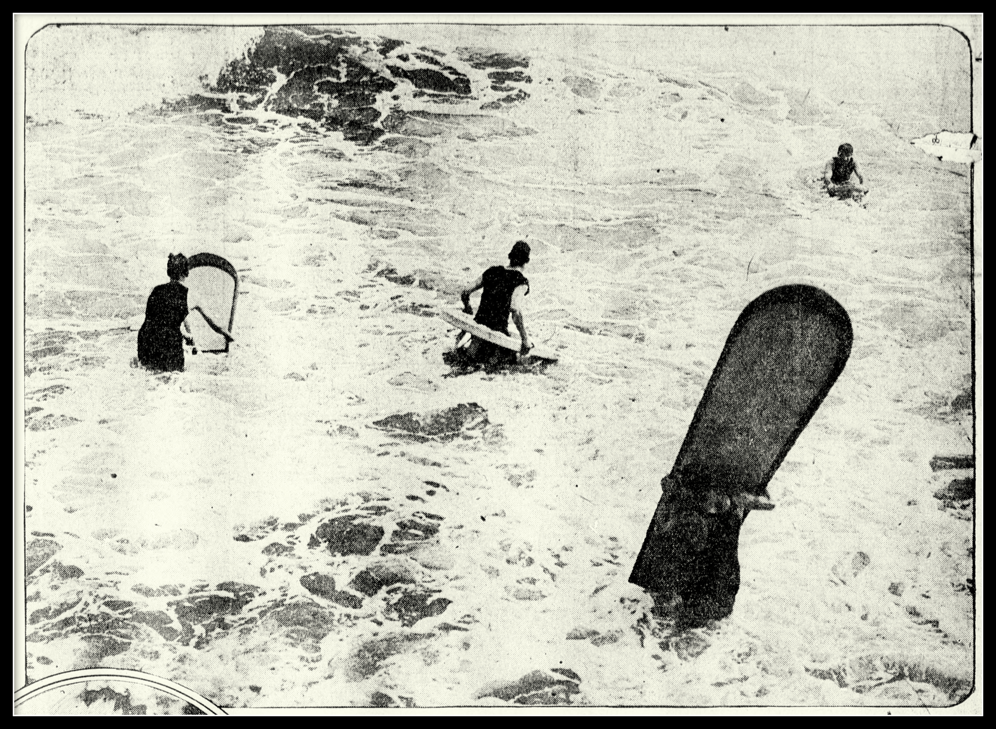 Surfers at The Breakers Hotel, 1919