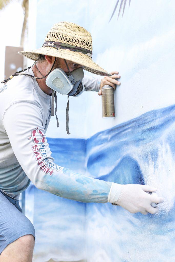 Peter Agardy Spanish River Boca Raton Mural