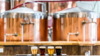 Flight at Tarpon River Brewing in Fort Lauderdale