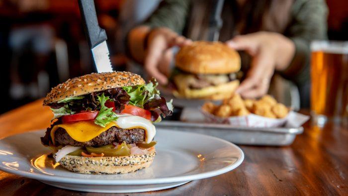 Tucker Duke's Impossible Vegan Burger