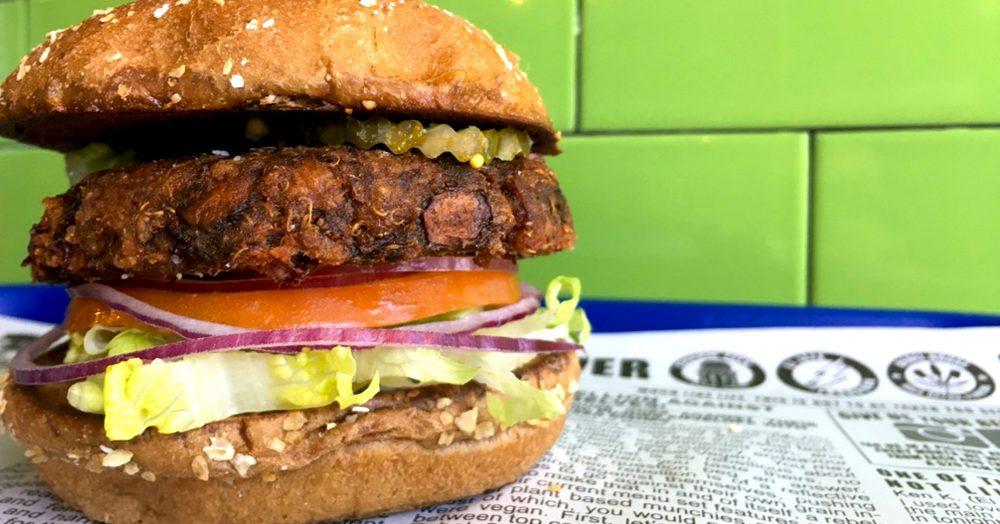 Charm City Hippie Vegan Burger