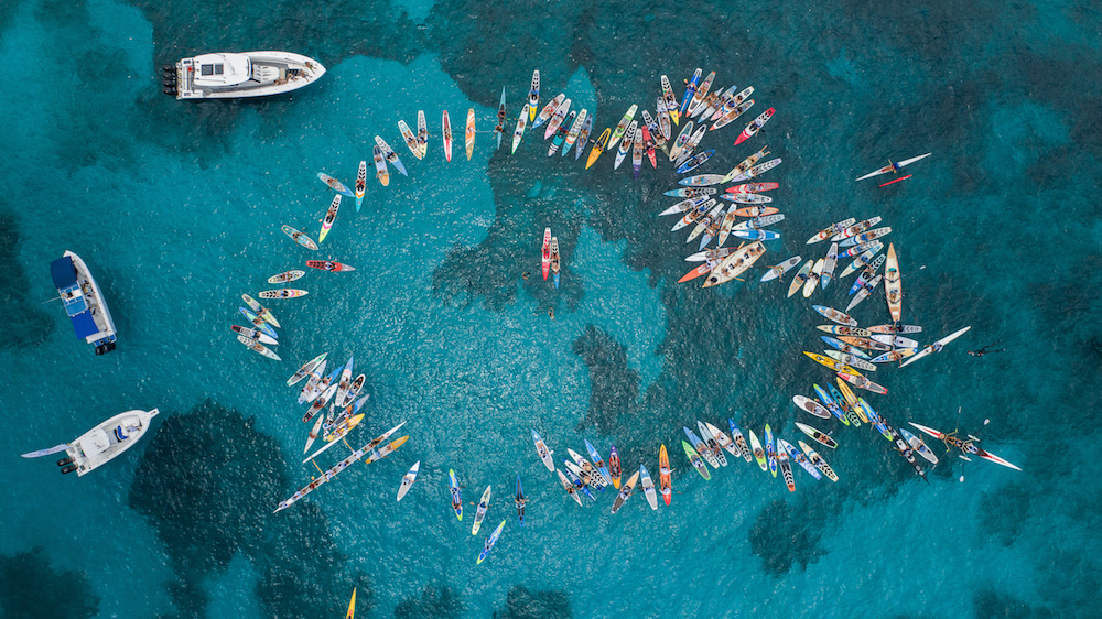 Crossing for a Cure paddle out