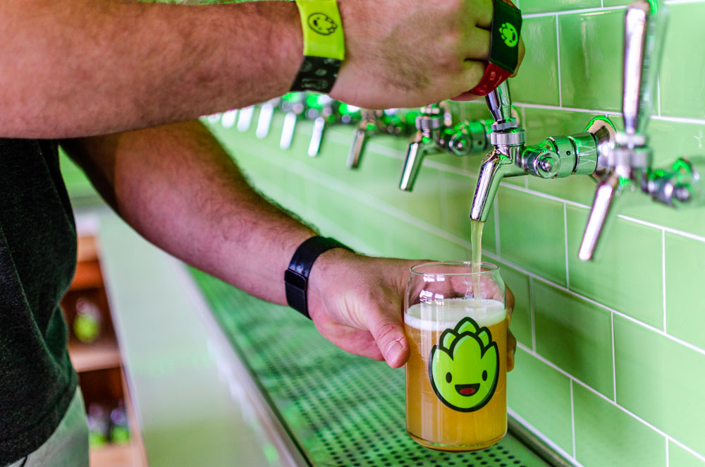 Beer at Hopportunities in Delray Beach