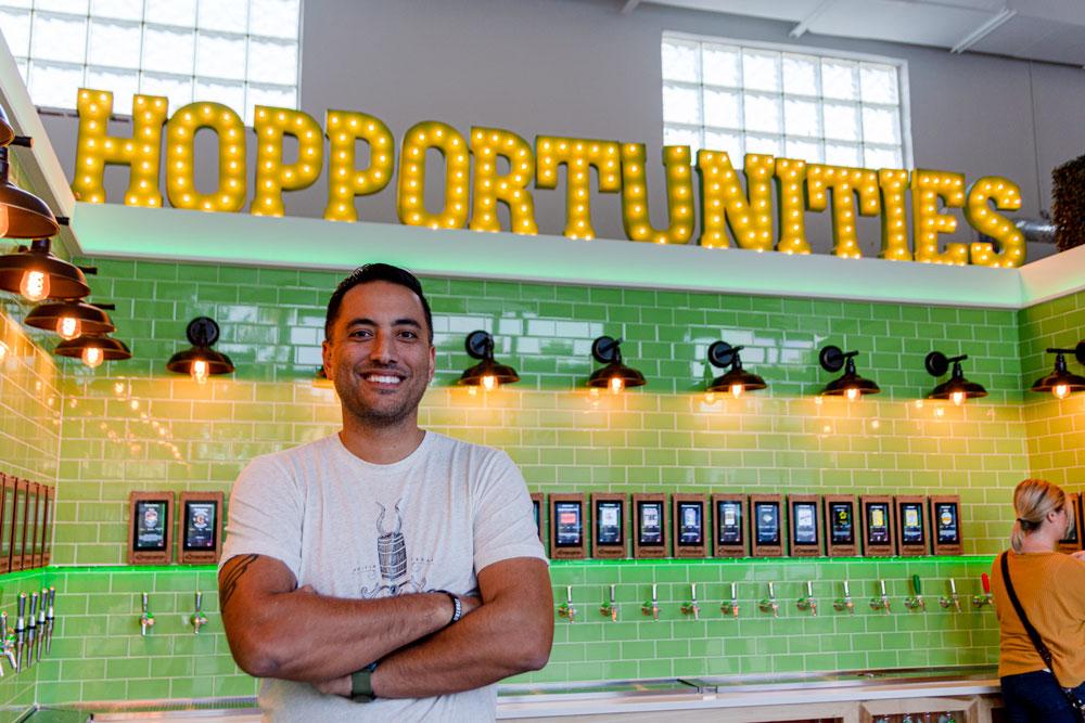 Owner John Macatangay of Hopportunities in Delray Beach