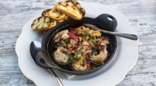 Luff's Fish House Spanish Style Garlic Shrimp
