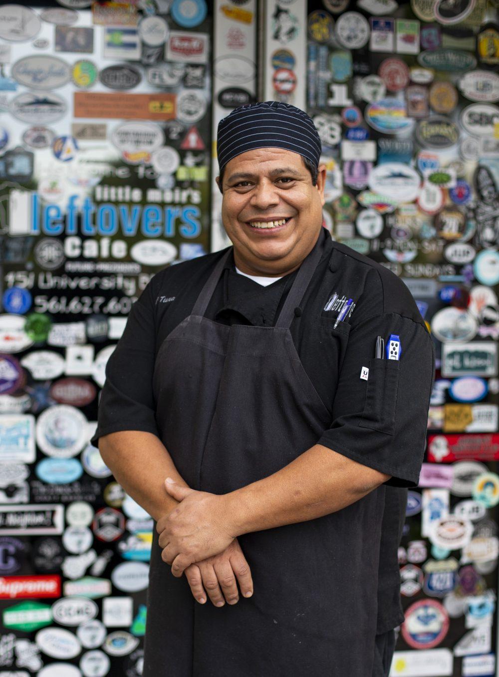 """Leftover Cafe's Chef Arturo """"Tuna"""" Serrano"""