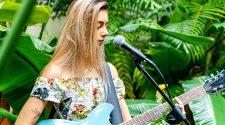 Sierra Lane Playing Guitar