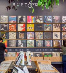 Rust & Wax Record Store in West Palm Beach
