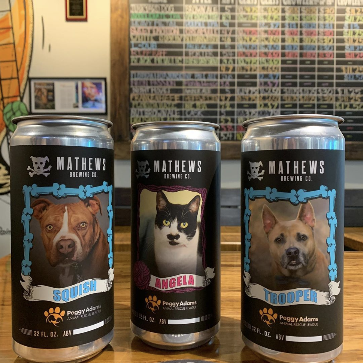 Mathews Brewing in Lake Worth Crowlers