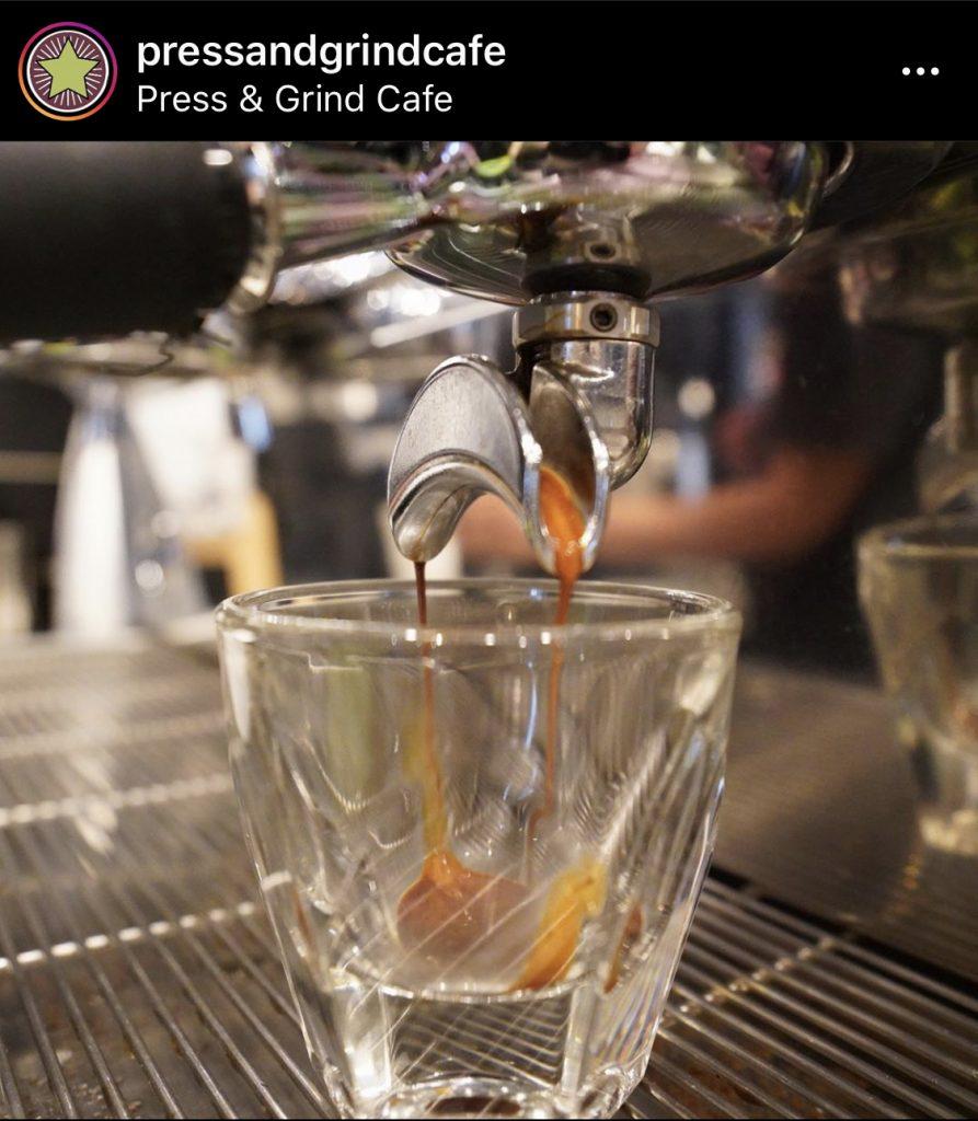 Press & Grind Cafe in Fort Lauderdale
