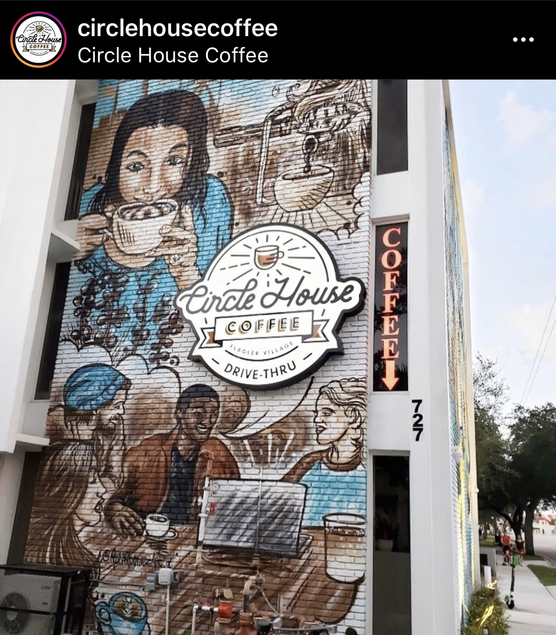 Circle House Coffee in Fort Lauderdale