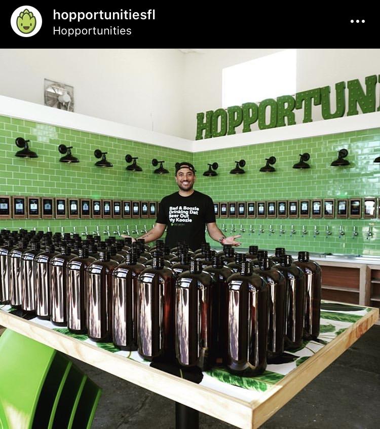 Hopportunities Self-Serve Craft Beer Bar Delray Beach