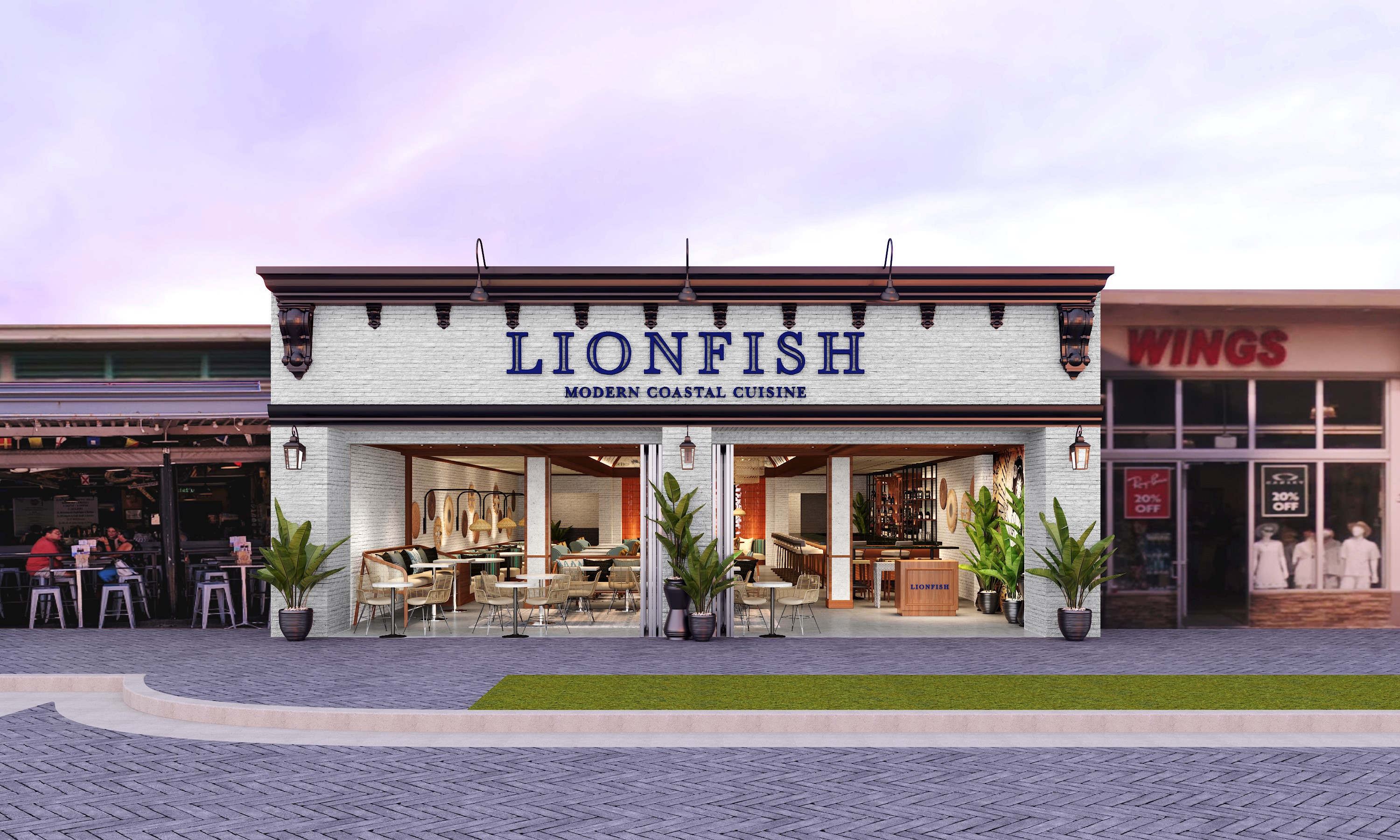 Lionfish In Delray Beach by Vincent Celano Celano Design Studio