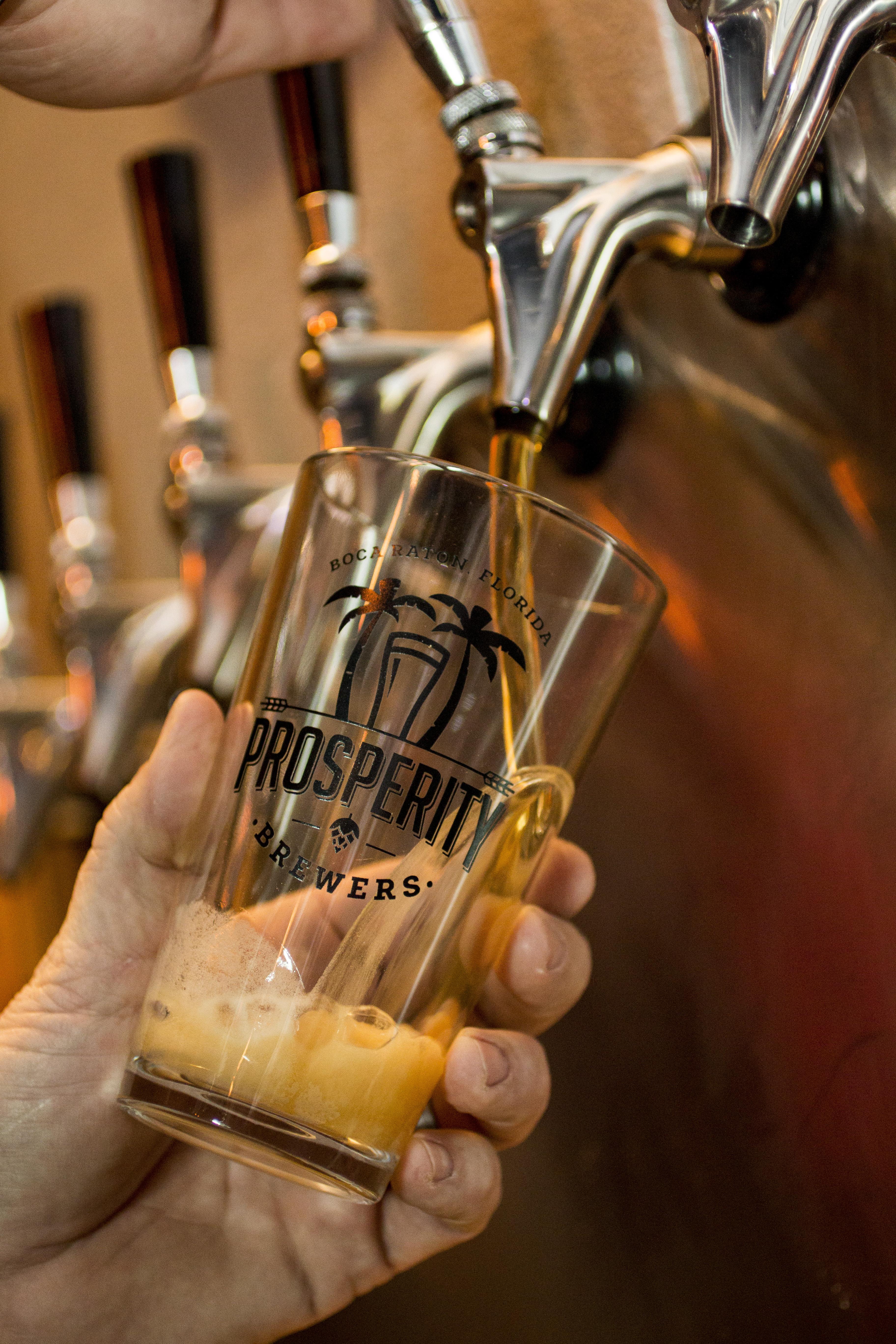 Best Beers From Prosperity Brewers in Boca Raton