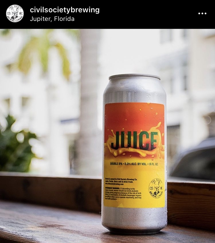 Civil Society Brewing Juice IPA