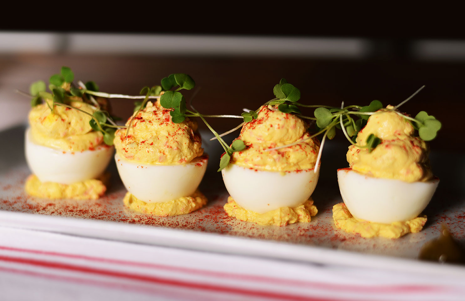 Coolinary Cafe Deviled Eggs