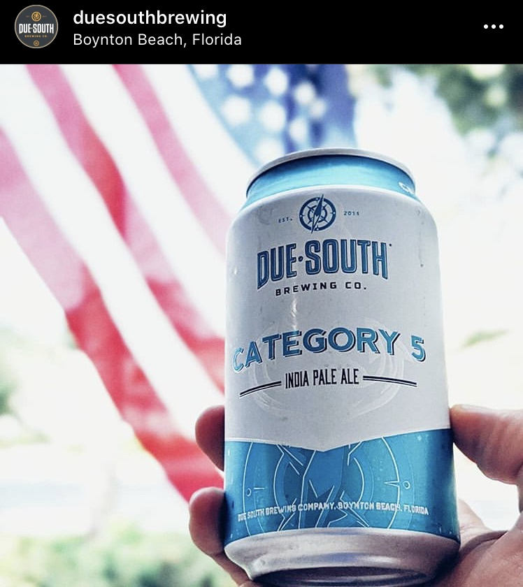 Due South Brewing Co. Category 5 IPA