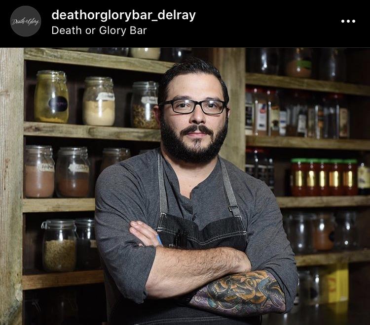 Chef Alex Zarlenga Death or Glory Bar