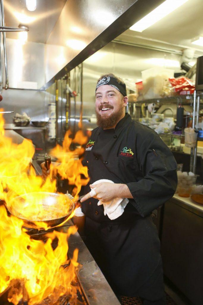 Chef Chad Wyrosdick Papas Raw Bar