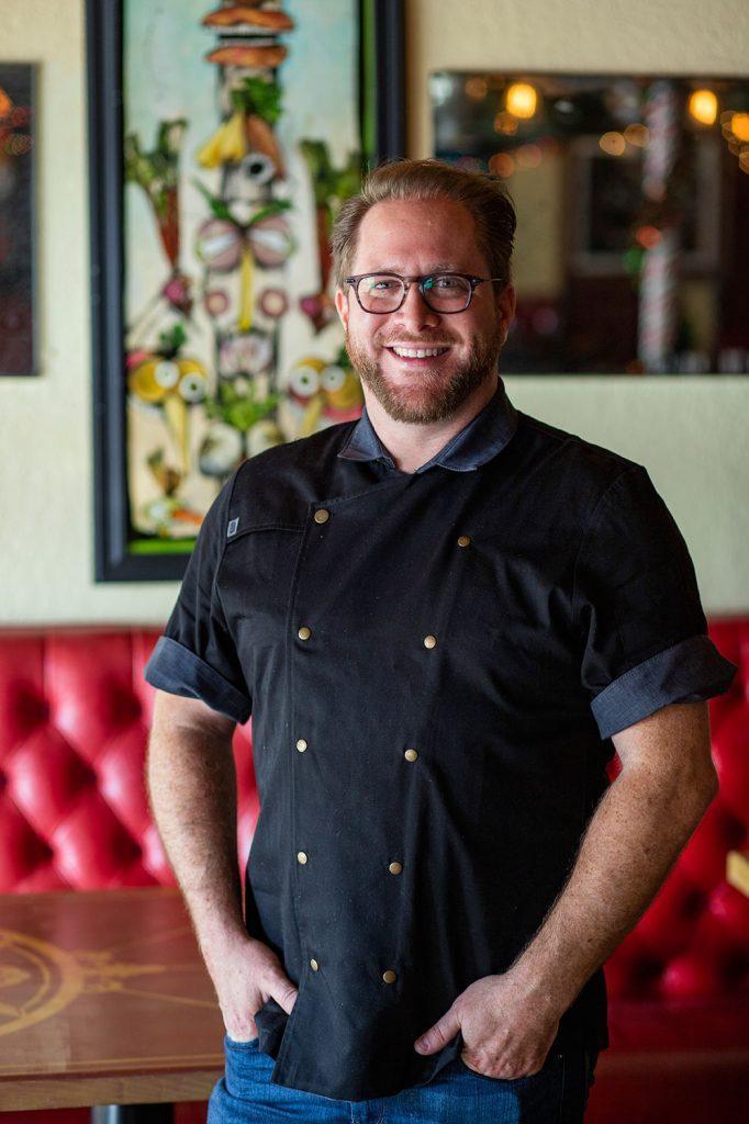 Chef Eric Baker Rebel House