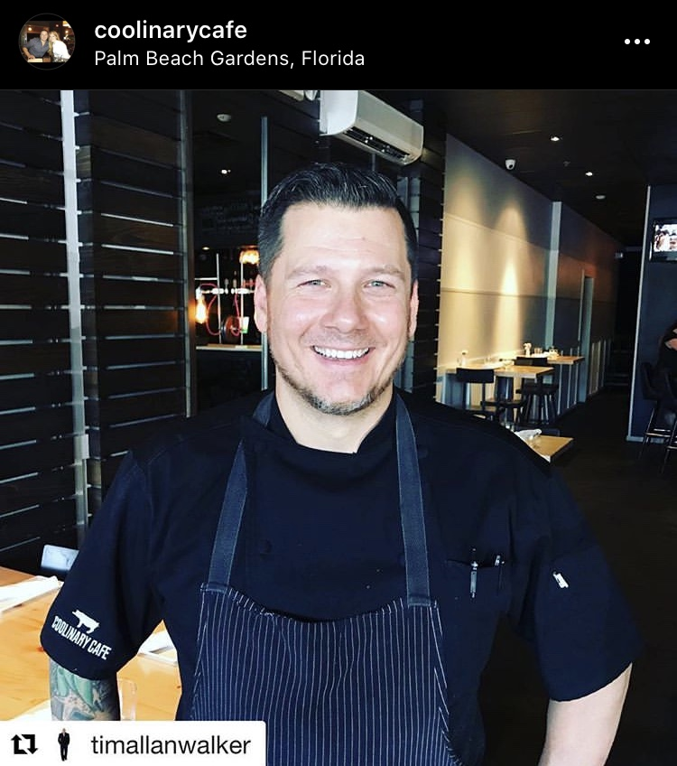 Chef Tim Lipman Coolinary Cafe
