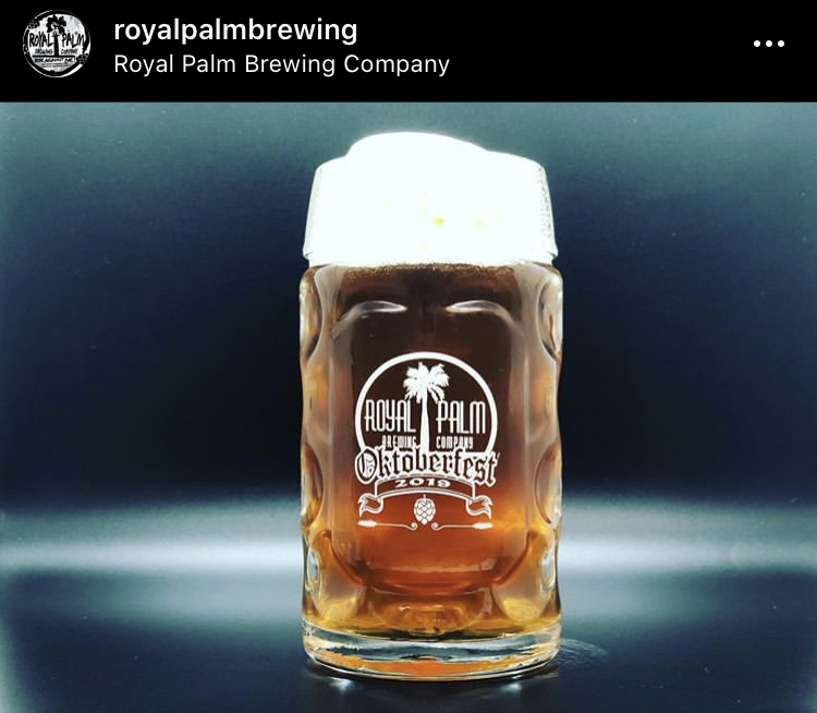 Oktoberfest Royal Palm Brewing