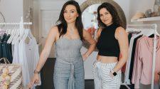 Reel Skipper Samantha Pettinaroli and Michelle Lynn